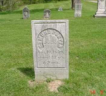 PORTER, EDMUND - Peoria County, Illinois   EDMUND PORTER - Illinois Gravestone Photos