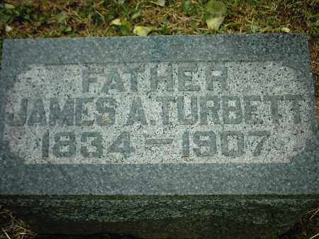 TURBETT, JAMES A - Peoria County, Illinois   JAMES A TURBETT - Illinois Gravestone Photos