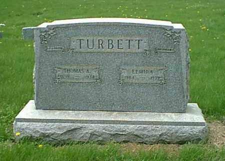TURBETT, THOMAS - Peoria County, Illinois | THOMAS TURBETT - Illinois Gravestone Photos