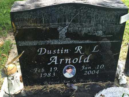 ARNOLD, DUSTIN R L - Perry County, Illinois | DUSTIN R L ARNOLD - Illinois Gravestone Photos