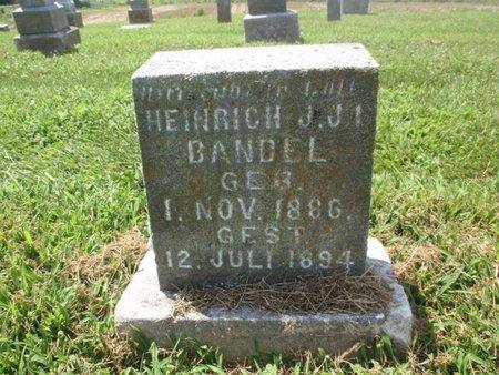 BANDEL, CHILD - Perry County, Illinois   CHILD BANDEL - Illinois Gravestone Photos
