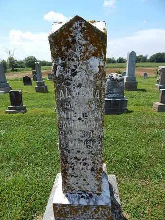 BAUERSACHS, ALWENA - Perry County, Illinois | ALWENA BAUERSACHS - Illinois Gravestone Photos