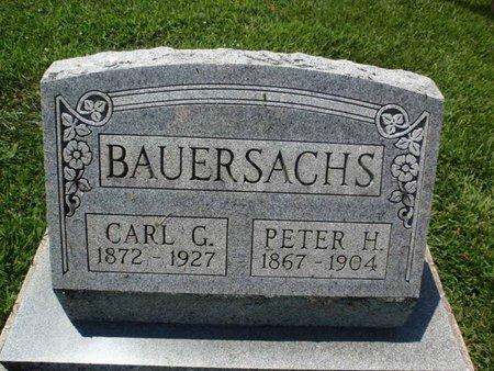 BAUERSACHS, CARL G - Perry County, Illinois | CARL G BAUERSACHS - Illinois Gravestone Photos