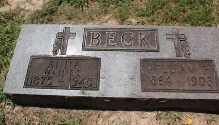 BECK, WILLIAM - Perry County, Illinois | WILLIAM BECK - Illinois Gravestone Photos