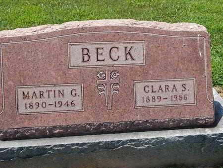 BECK, CLARA S - Perry County, Illinois | CLARA S BECK - Illinois Gravestone Photos