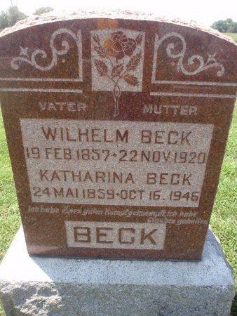 BECK, WILHELM - Perry County, Illinois | WILHELM BECK - Illinois Gravestone Photos