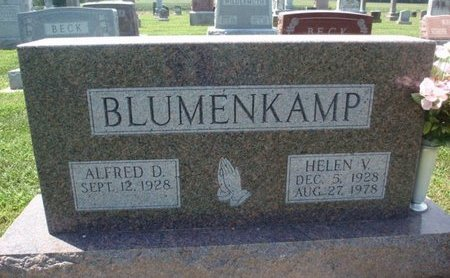 BLUMENKAMP, HELEN V - Perry County, Illinois | HELEN V BLUMENKAMP - Illinois Gravestone Photos