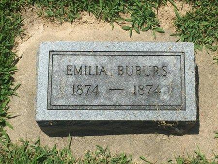 BUBURS, EMILIA - Perry County, Illinois | EMILIA BUBURS - Illinois Gravestone Photos