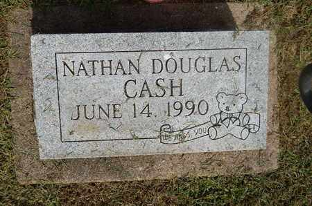 CASH, NATHAN DOUGLASS - Perry County, Illinois | NATHAN DOUGLASS CASH - Illinois Gravestone Photos