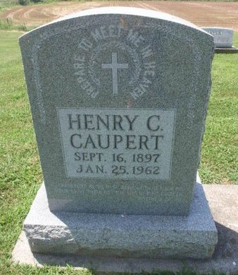 CAUPERT, HENRY C - Perry County, Illinois | HENRY C CAUPERT - Illinois Gravestone Photos