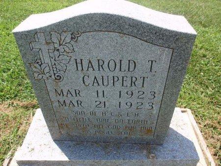 CAUPERT, HAROLD T - Perry County, Illinois   HAROLD T CAUPERT - Illinois Gravestone Photos