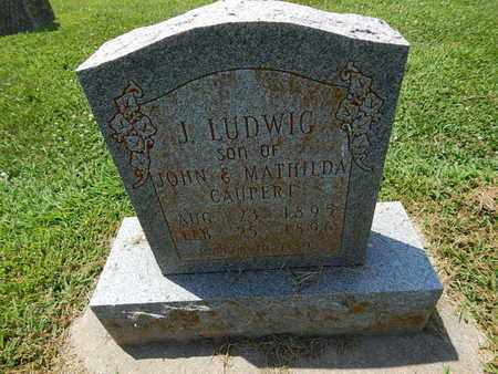 CAUPERT, J LUDWIG - Perry County, Illinois   J LUDWIG CAUPERT - Illinois Gravestone Photos
