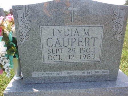 CAUPERT, LYDIA M - Perry County, Illinois | LYDIA M CAUPERT - Illinois Gravestone Photos
