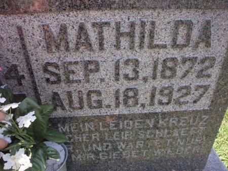 CAUPERT, MATHILDA - Perry County, Illinois   MATHILDA CAUPERT - Illinois Gravestone Photos