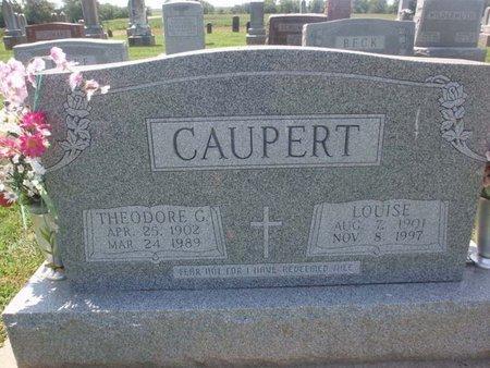 CAUPERT, LOUISE - Perry County, Illinois   LOUISE CAUPERT - Illinois Gravestone Photos