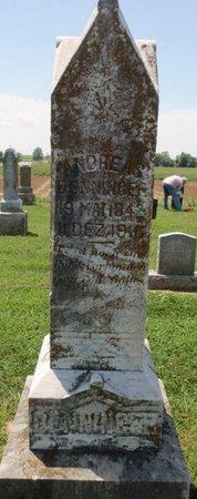 DENNINGER, ANDREAS - Perry County, Illinois | ANDREAS DENNINGER - Illinois Gravestone Photos