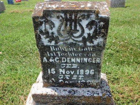 DENNINGER, ELSIE - Perry County, Illinois   ELSIE DENNINGER - Illinois Gravestone Photos