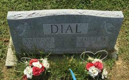 DIAL, WILLIAM FRANK - Perry County, Illinois | WILLIAM FRANK DIAL - Illinois Gravestone Photos
