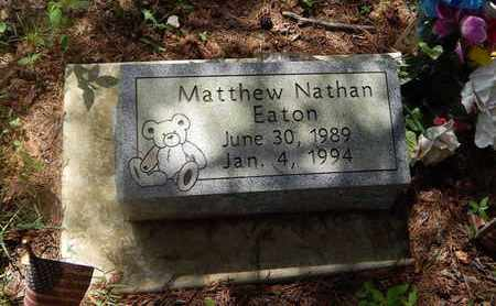 EATON, MATTHEW NATHAN - Perry County, Illinois | MATTHEW NATHAN EATON - Illinois Gravestone Photos