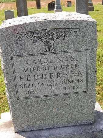FEDDERSEN, CAROLINE S - Perry County, Illinois | CAROLINE S FEDDERSEN - Illinois Gravestone Photos