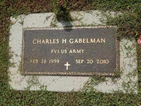 GABELMAN (VETERAN), CHARLES H (NEW) - Perry County, Illinois | CHARLES H (NEW) GABELMAN (VETERAN) - Illinois Gravestone Photos