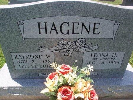 HAGENE, RAYMOND W - Perry County, Illinois   RAYMOND W HAGENE - Illinois Gravestone Photos