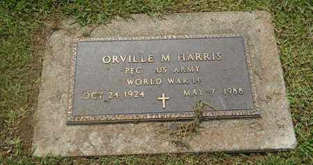 HARRIS (VETERAN WWII), ORVILLE M (NEW) - Perry County, Illinois | ORVILLE M (NEW) HARRIS (VETERAN WWII) - Illinois Gravestone Photos
