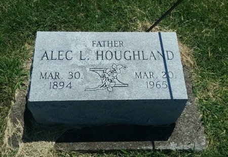 HOUGHLAND, ALEC L. - Perry County, Illinois | ALEC L. HOUGHLAND - Illinois Gravestone Photos