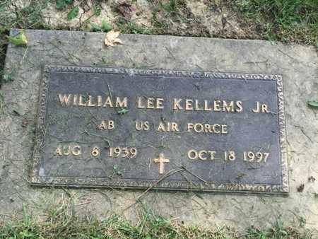 KELLEMS (VETERAN), WILLIAM LEE JR (NEW) - Perry County, Illinois   WILLIAM LEE JR (NEW) KELLEMS (VETERAN) - Illinois Gravestone Photos