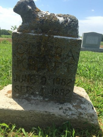 KRAFT, CLARA - Perry County, Illinois   CLARA KRAFT - Illinois Gravestone Photos