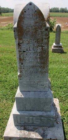 LUST, GEORGE - Perry County, Illinois | GEORGE LUST - Illinois Gravestone Photos