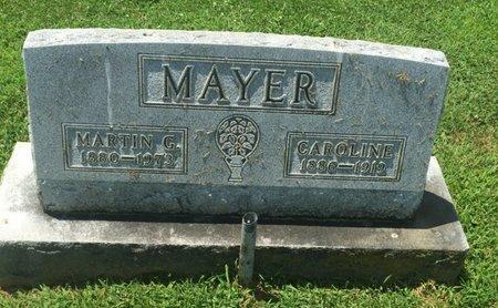 MAYER, CAROLINE - Perry County, Illinois | CAROLINE MAYER - Illinois Gravestone Photos