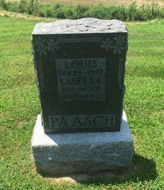 PAASCH, LISETTA - Perry County, Illinois | LISETTA PAASCH - Illinois Gravestone Photos
