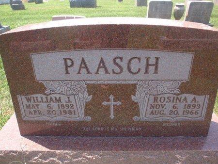 PAASCH, ROSINA A - Perry County, Illinois | ROSINA A PAASCH - Illinois Gravestone Photos