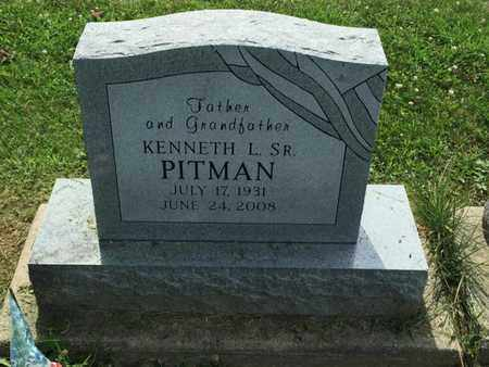 PITMAN, KENNETH L SR - Perry County, Illinois | KENNETH L SR PITMAN - Illinois Gravestone Photos