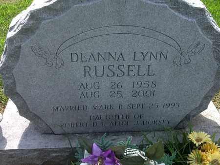 RUSSELL, DEANNA LYNN - Perry County, Illinois | DEANNA LYNN RUSSELL - Illinois Gravestone Photos
