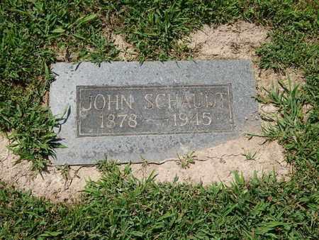 SCHAUDT, JOHN - Perry County, Illinois | JOHN SCHAUDT - Illinois Gravestone Photos