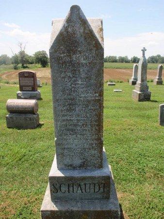 SCHAUDT, LOUISE - Perry County, Illinois | LOUISE SCHAUDT - Illinois Gravestone Photos