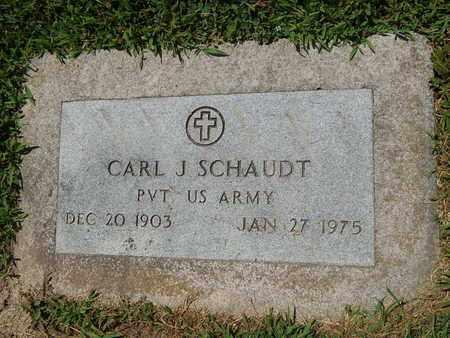 SCHAUDT (VETERAN), CARL J (NEW) - Perry County, Illinois | CARL J (NEW) SCHAUDT (VETERAN) - Illinois Gravestone Photos