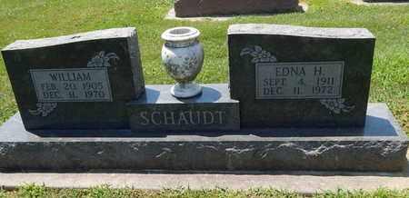 SCHAUDT, WILLIAM - Perry County, Illinois | WILLIAM SCHAUDT - Illinois Gravestone Photos