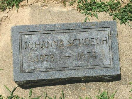 SCHOECH, JOHANNA - Perry County, Illinois   JOHANNA SCHOECH - Illinois Gravestone Photos