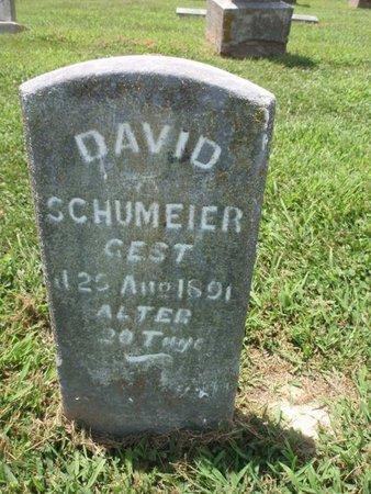 SCHUMEIER, DAVID - Perry County, Illinois | DAVID SCHUMEIER - Illinois Gravestone Photos