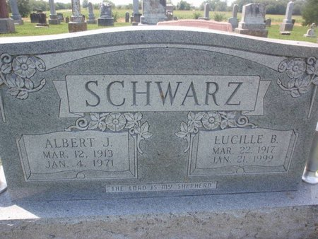SCHWARZ, ALBERT J - Perry County, Illinois | ALBERT J SCHWARZ - Illinois Gravestone Photos