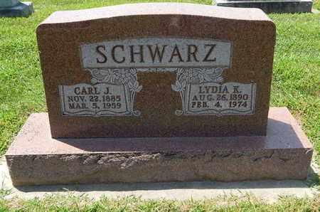 SCHWARZ, CARL J - Perry County, Illinois   CARL J SCHWARZ - Illinois Gravestone Photos
