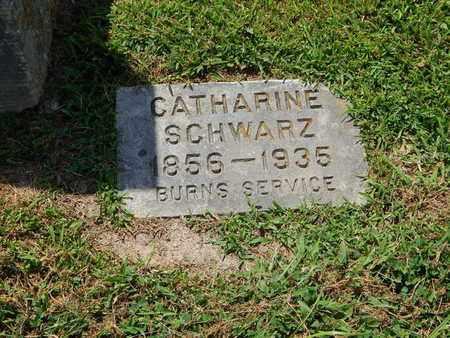 LOOS SCHWARZ, CATHARINE - Perry County, Illinois | CATHARINE LOOS SCHWARZ - Illinois Gravestone Photos
