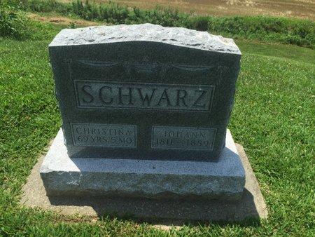 SCHWARZ, JOHANN - Perry County, Illinois | JOHANN SCHWARZ - Illinois Gravestone Photos