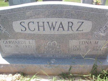 SCHWARZ, EDNA M - Perry County, Illinois | EDNA M SCHWARZ - Illinois Gravestone Photos