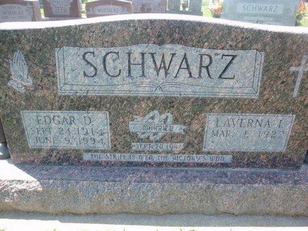 SCHWARZ, EDGAR D - Perry County, Illinois   EDGAR D SCHWARZ - Illinois Gravestone Photos