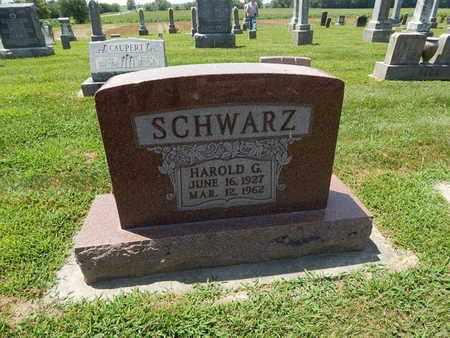 SCHWARZ, HAROLD G - Perry County, Illinois | HAROLD G SCHWARZ - Illinois Gravestone Photos