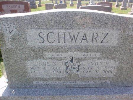 SCHWARZ, EMILY C - Perry County, Illinois | EMILY C SCHWARZ - Illinois Gravestone Photos